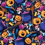 Seamless pattern Halloween Royalty Free Stock Image