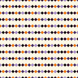 Seamless pattern in Halloween traditional colors. Abstract repeated bright horizontal lines background. Royalty Free Stock Image