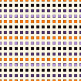 Seamless pattern in Halloween traditional colors. Abstract repeated bright horizontal lines background. Stock Photos