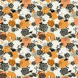 Seamless pattern for halloween. Stock Photography