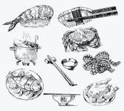 Seamless pattern-hand drawn Royalty Free Stock Photos
