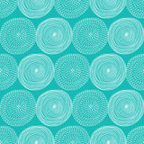 Seamless  pattern with hand drawn abstract circles. Stock Photo