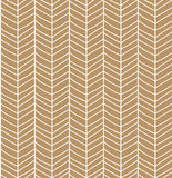 Seamless pattern with hand drawn chevron line grid, vector illus Stock Images