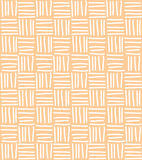 Seamless pattern with hand drawn chevron line grid, vector illus Stock Photo