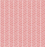 Seamless pattern with hand drawn chevron line grid Stock Image