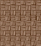 Seamless pattern with hand drawn chevron line grid Royalty Free Stock Photography