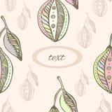 Seamless pattern hand drawn colorfull lemon. Vector Royalty Free Stock Image