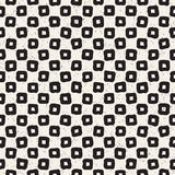 Seamless pattern with hand drawn lines. Abstract background with freehand brush strokes. Black and white texture Stock Photos