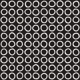 Seamless pattern with hand drawn lines. Abstract background with freehand brush strokes. Black and white texture Royalty Free Stock Photos