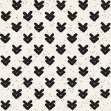 Seamless pattern with hand drawn lines. Abstract background with freehand brush strokes. Black and white texture. Seamless pattern with hand drawn lines Stock Image