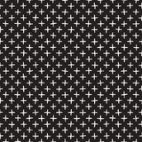 Seamless pattern with hand drawn lines. Abstract background with freehand brush strokes. Black and white texture Royalty Free Stock Image