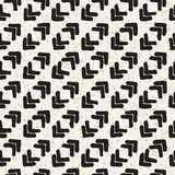Seamless pattern with hand drawn lines. Abstract background with freehand brush strokes. Black and white texture. Seamless pattern with hand drawn lines Stock Photos