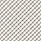Seamless pattern with hand drawn lines. Abstract background with freehand brush strokes. Black and white texture Royalty Free Stock Photography