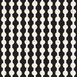 Seamless pattern with hand drawn lines. Abstract background with freehand brush strokes. Black and white texture. Ornament for wra. Seamless pattern with hand stock illustration