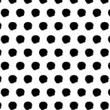 Seamless  pattern with hand drawn small doodle dots. Stock Photo