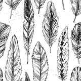 Seamless pattern. Hand drawn vector vintage illustration Royalty Free Stock Image