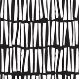Seamless pattern with hand drawn vertical lines. Vector  Stock Photo