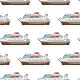 Seamless pattern. Hand drawn water Royalty Free Stock Image