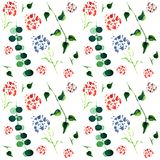 Botanical Pattern stock illustration