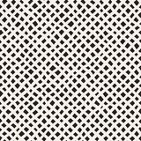 Seamless pattern with hand drawn waves. Abstract background with wavy brush strokes. Black and white freehand lines. Seamless pattern with hand drawn waves Stock Image