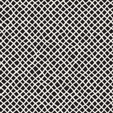 Seamless pattern with hand drawn waves. Abstract background with wavy brush strokes. Black and white freehand lines. Seamless pattern with hand drawn waves vector illustration