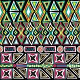 Seamless pattern hand-drawned geometry Stock Photo
