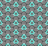 Seamless pattern. Hand spinner. Fidget spinner Stock Photos