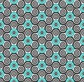 Seamless pattern. Hand spinner. Fidget spinner. Seamless pattern of hand spinner. Vector illustration Stock Photos