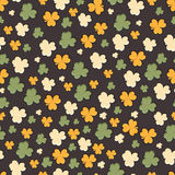 Seamless pattern for Happy St. Patricks Day celebration. Royalty Free Stock Images