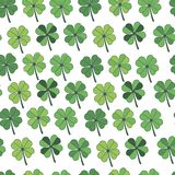 Seamless pattern Happy St. Patrick`s Day vector illustration