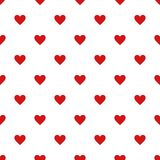 Seamless pattern with heart vector illustration