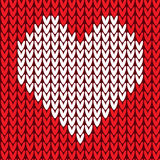 Seamless pattern with heart Royalty Free Stock Photography