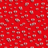 Seamless pattern heart valentines day Royalty Free Stock Photography
