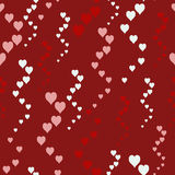 Seamless pattern with hearts Royalty Free Stock Photography