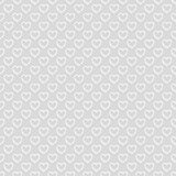 Seamless pattern of hearts. Abstract background. stock illustration