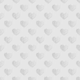 Seamless pattern of hearts. Abstract background. Royalty Free Stock Image