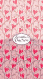 Seamless pattern hearts Royalty Free Stock Image