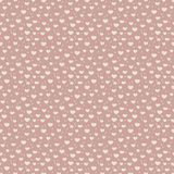 Seamless pattern of hearts and confetti Stock Photo