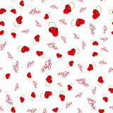 Seamless pattern with hearts. Love background. Hearts background Royalty Free Stock Image
