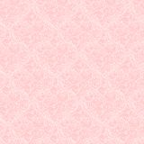 Seamless pattern with hearts made of red rose Royalty Free Stock Images