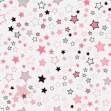 Seamless pattern with hearts. pink hearts. Romantic pattern Royalty Free Stock Images