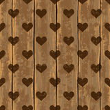 Seamless pattern with hearts Royalty Free Stock Images