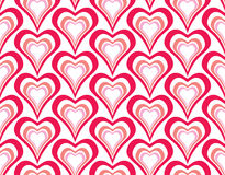 Seamless pattern hearts. Royalty Free Stock Images