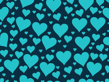 Seamless pattern with hearts. Valentine's Day. Textile illustrat Stock Images