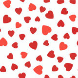 Seamless pattern with hearts. Valentines Day  background. Random element. Set of 5 seamless pattern with hearts. Valentines Day background Royalty Free Stock Photography