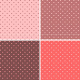 Seamless pattern hearts vector Royalty Free Stock Photos