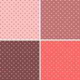 Seamless pattern hearts vector Royalty Free Stock Photos