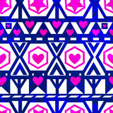 Seamless pattern with hearts. Vector, EPS10 Royalty Free Stock Photography