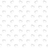 Seamless pattern with hearts. Stock Photography