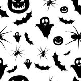 Seamless Pattern Helloween. Pattern for Helloween background. Adaptive for web Royalty Free Stock Photo